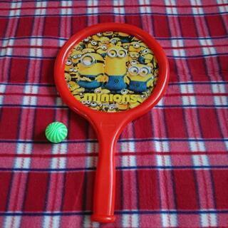 ミニオン のラケットのおもちゃ