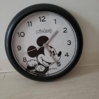 5月末まで!ミッキー掛時計