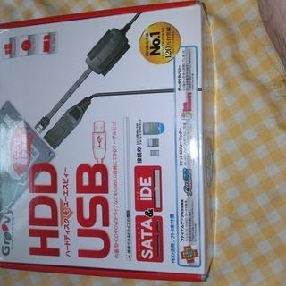 たこの吸出し HDDをUSBでデータ取り込み UD-500SA