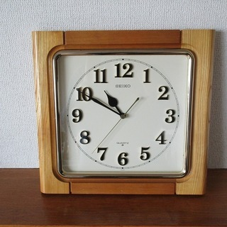 SEIKO 壁掛け時計 昭和レトロ