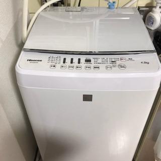 hisense 洗濯機 2017製