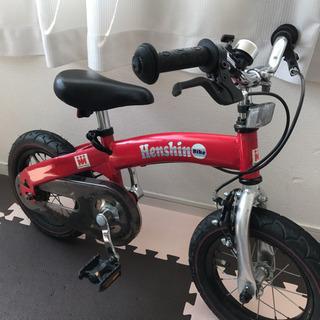 Henshin Bike へんしんバイク 赤 12インチ