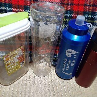 【4個】冷水筒 水筒 ボトル 魔法瓶 お茶 お水 真空