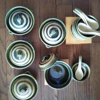 【未使用】陶器の器セット