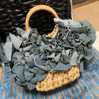 藤編み込み籠bag   新品 お値下げしました!