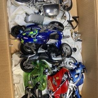 【ジャンク】バイクのプラモデルいろいろ