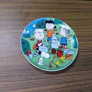 チャーリーブラウンの絵皿(中古)