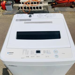 6キロ洗濯機◆ホワイト◆2019年製◆保証付き◆配送設置無料!!