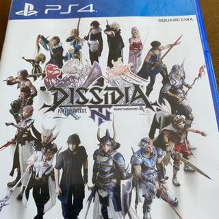 PS4 ディシディアファイナルファンタジー