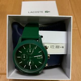 新品未使用 ラコステ 腕時計 保証書付き