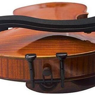 新品 バイオリン用肩当て 3/4-4/4サイズ用 黒い