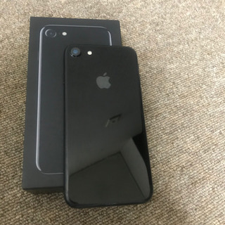 iPhone 7 Jet Black 256 GB 海外SIMフリー