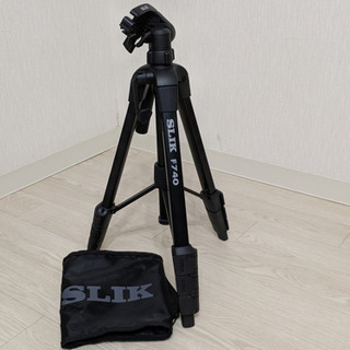 【商談成立】カメラ三脚 SLIK F740 4段