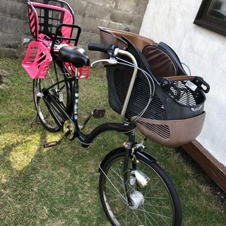 早い者勝ち【中古】子供乗せ自転車 前輪タイヤ新品交換済み
