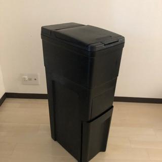 無料!2段式スリムゴミ箱