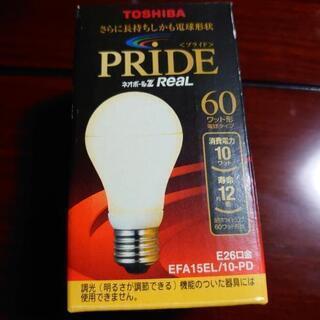 東芝PRIDE電球60ワット