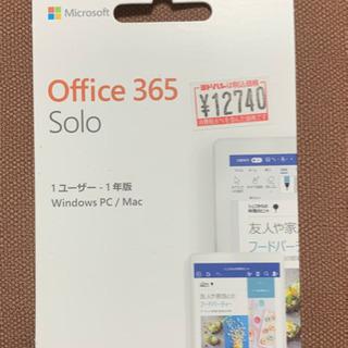 Microsoft Office 365 Solo (最新 1年...
