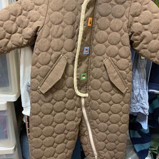 ファミリア キルティング風ジャンプスーツ 80