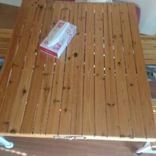 木製 折り畳みテーブル キャンプ アウトドア