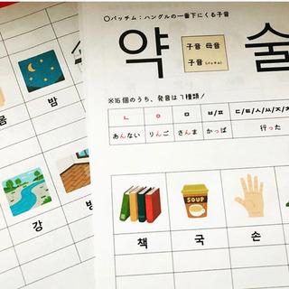 🌸韓国語マンツーマンレッスン🌸