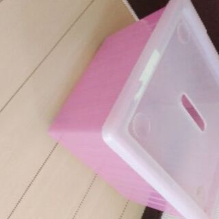 IKEA  VESSLA  ピンク