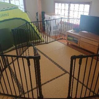 値下げお得品!! フェンス 屋内屋外、子供用、ペット用、保育園用