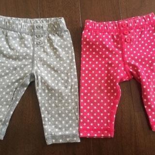 【0〜3ヶ月】baby Gap レギンスパンツ セット