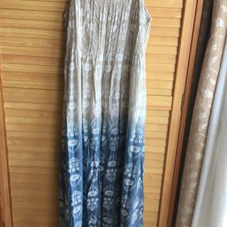 刺繍キャミワンピース
