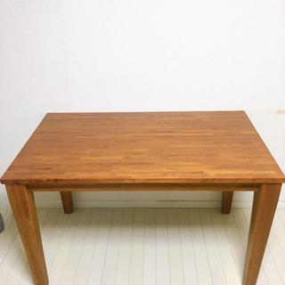 美品 SCANTEAKのダイニングテーブルとチェアー4脚
