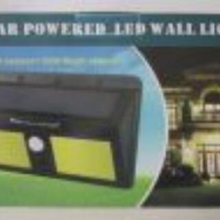 太陽光発電96LED ソーラー センサーライト 外灯 玄関ライト...
