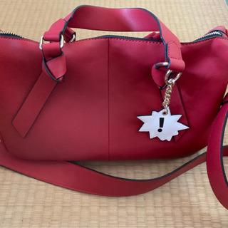 最終値下げ!ZARA 赤色バッグ