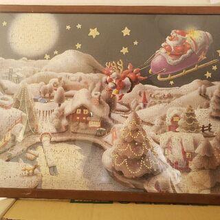 クリスマス柄パズル