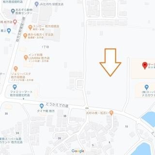 枚方市招堤北町 資材置場 大型車駐車場