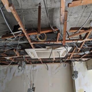 店舗内装解体・現状回復・スケルトン工事はお任せください。