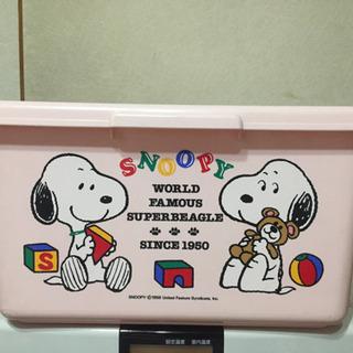 スヌーピーおもちゃBOX