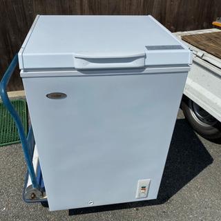 奈良発 100L タイプ 上開き式 冷凍ストッカー 冷凍庫…