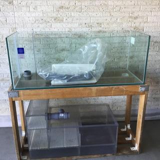 オーバーフロー総ガラス(水槽のみ)