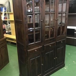 北海道民芸家具 HM165K 食器棚