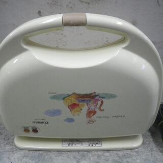 象印 プーさんデザイン 家庭用 ホットサンドメーカー 750w ...