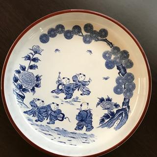 古風柄の大皿深皿です^ ^