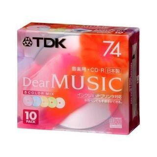 TDK  MUSIC  CD-R  74分    10枚パ…