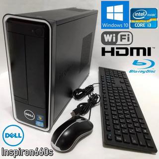 ☆Dell デスクトップ/i3/Win10/BD/HDMI/wi...