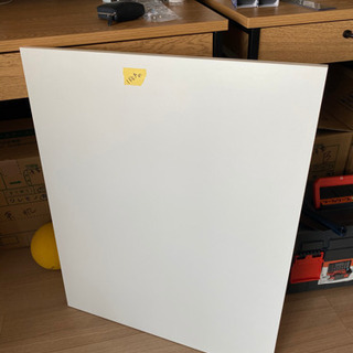 IKEAの収納棚用のホワイト棚板のみ5枚さしあげます
