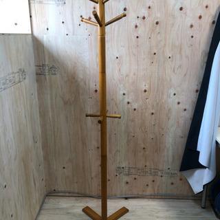 木製の洋服掛け◆シンプル