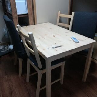 Ikea INGO インゴー ダイニングテーブル (4人)