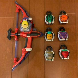 仮面ライダー鎧武 創世弓 DXソニックアロー ロックシードセット