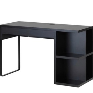 IKEA MICKE ビルトイン収納付き