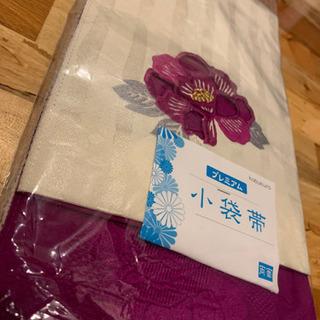 お花刺繍入り両面帯🌸新品!