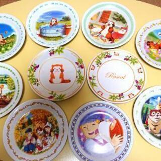 キャラクターお皿 10枚
