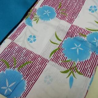 [新品] なでしこ柄の浴衣と帯